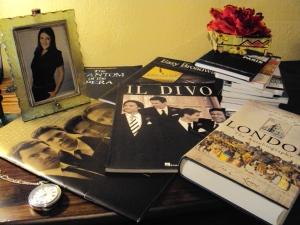Livros, partituras e guias