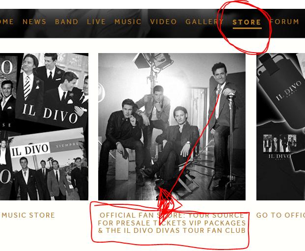 Tutorial para comprar ingressos via site oficial il divo carlos marin david miller - Il divo website ...