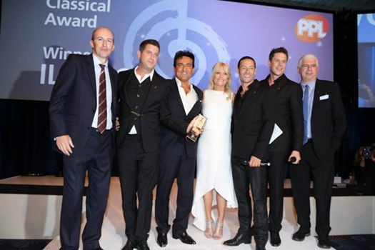 Il Divo vence Classical Awards
